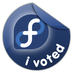 Fedora I Voted